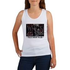 Talk Derby Neon Women's Tank Top