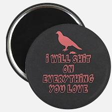 Funny Bird Poop Magnets