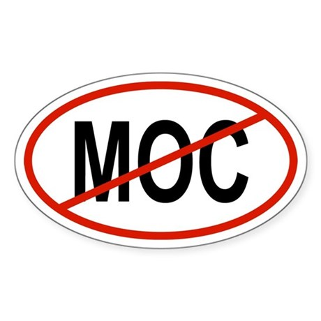 MOC Oval Sticker