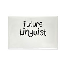 Future Linguist Rectangle Magnet