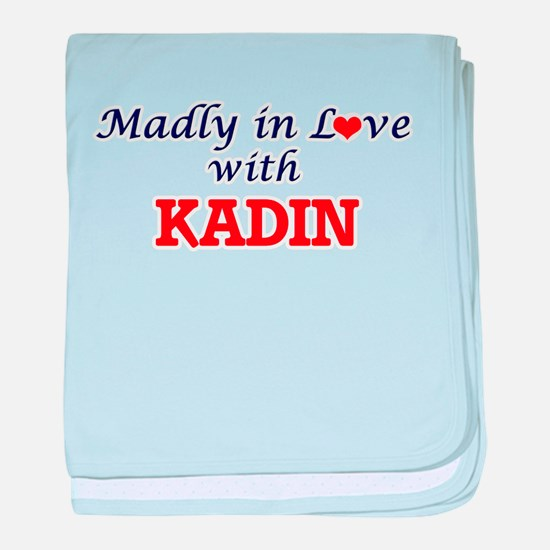 Madly in love with Kadin baby blanket