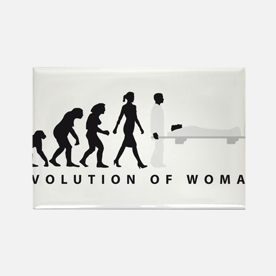 Evolution female paramedic Magnets