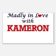 Madly in love with Kameron Decal