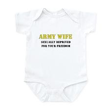 Army Wife Sexually Deprived Freedom Infant Bodysui