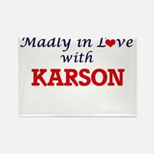Madly in love with Karson Magnets