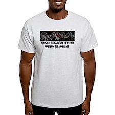 Skates On Neon T-Shirt