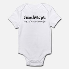 Jesus Loves You Infant Bodysuit