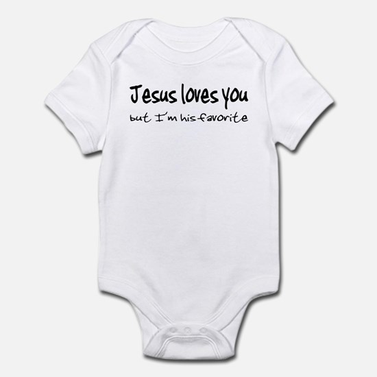 Jesus Loves You Infant Bodysuit