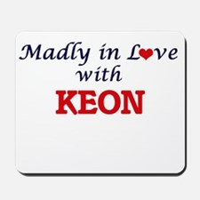 Madly in love with Keon Mousepad