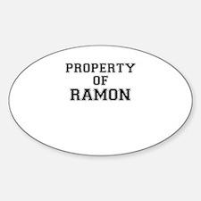 Property of RAMON Decal