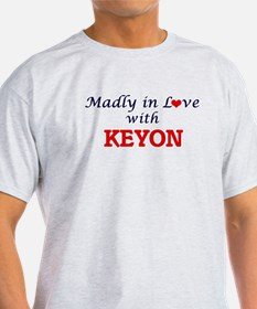 Madly in love with Keyon T-Shirt