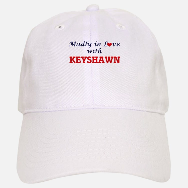 Madly in love with Keyshawn Baseball Baseball Cap