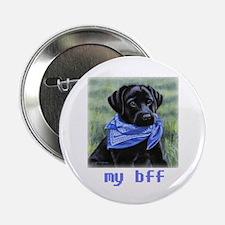 "Yuppy Puppy bff 2.25"" Button"
