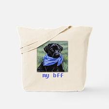 Yuppy Puppy bff Tote Bag