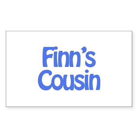 Finn's Cousin Rectangle Sticker