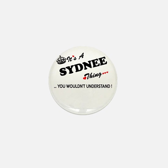 SYDNEE thing, you wouldn't understand Mini Button