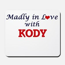 Madly in love with Kody Mousepad