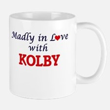 Madly in love with Kolby Mugs