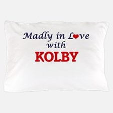 Madly in love with Kolby Pillow Case
