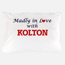 Madly in love with Kolton Pillow Case