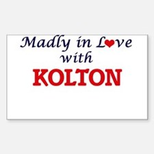 Madly in love with Kolton Decal