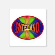 Byteland Ellipse Sticker