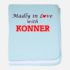 Madly in love with Konner baby blanket
