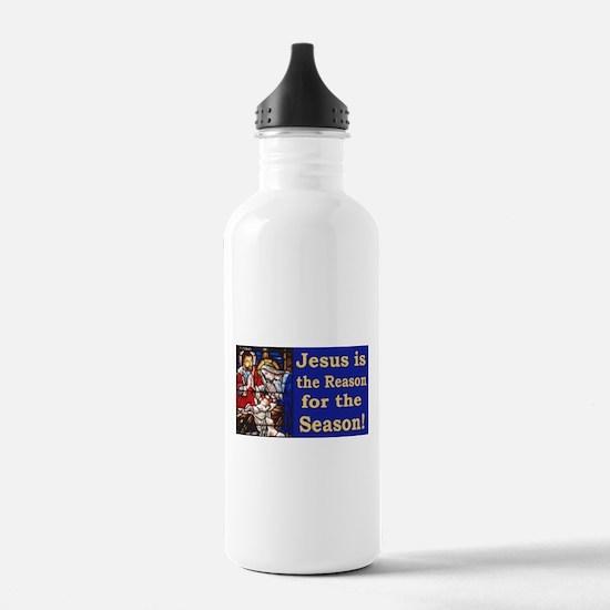 Jesus is the reason fo Water Bottle