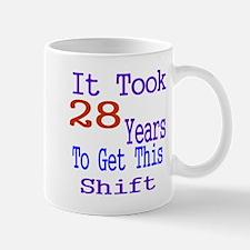 It Took 28 Years Birthday Designs Mug