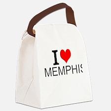 I Love Memphis Canvas Lunch Bag