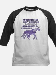 Unicorns Support Hodgkin's Lymphom Baseball Jersey