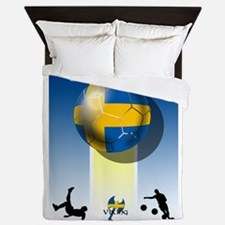 Swedish Football Queen Duvet