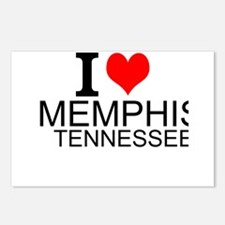 I Love Memphis, Tennessee Postcards (Package of 8)