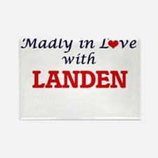 Madly in love with Landen Magnets