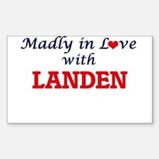 Madly in love with Landen Decal