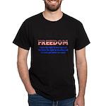 Feedom - Free Speech Dark T-Shirt