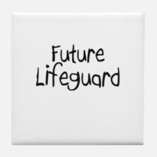 Future Lifeguard Tile Coaster