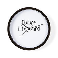Future Lifeguard Wall Clock