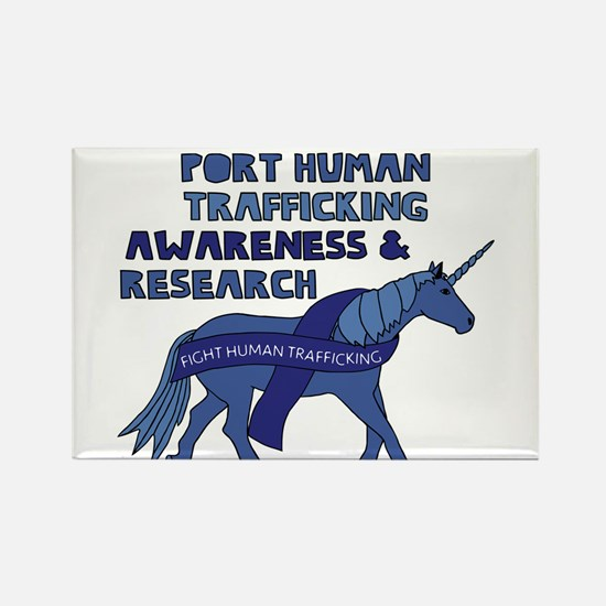 Unicorns Support Human Trafficking Awarene Magnets