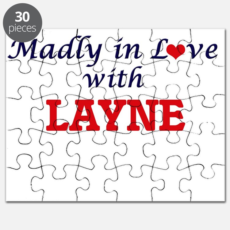 Madly in love with Layne Puzzle