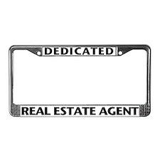 DEDICATED (Black) License Plate Frame