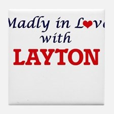Madly in love with Layton Tile Coaster