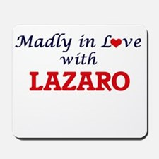 Madly in love with Lazaro Mousepad