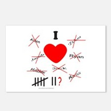 ANTIVALENTINE Postcards (Package of 8)