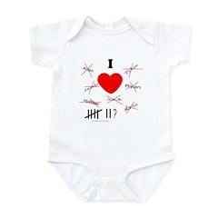 ANTIVALENTINE Infant Bodysuit