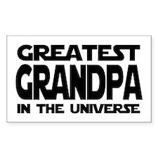 Greatest Grandpa Rectangle Decal