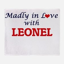 Madly in love with Leonel Throw Blanket