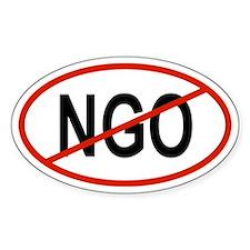 NGO Oval Decal