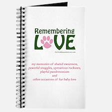 Remembering Love Memory Journal
