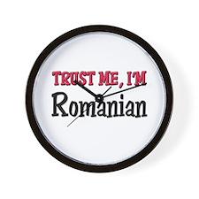 Trust Me I'm a Romanian Wall Clock